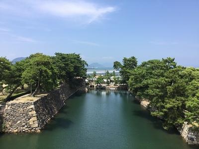 内堀、水門
