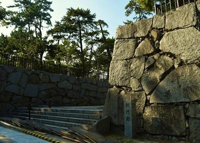 槻門(けやきもん)跡石垣