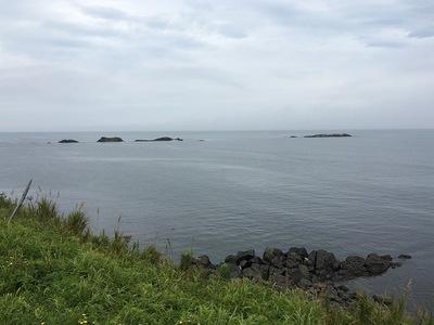 オホーツク海の眺望