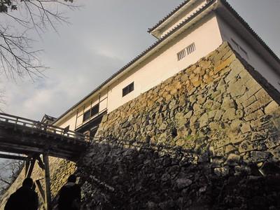 天秤櫓(下から)