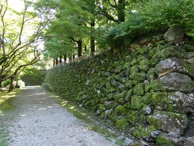 梅ノ段北側の石垣其の壱