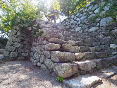 本丸への石段