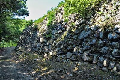 第三曲輪石垣(南側)