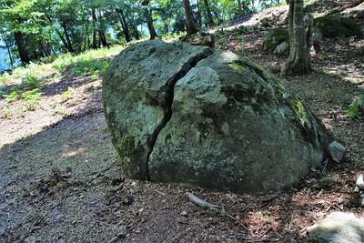 千畳敷にあった大石