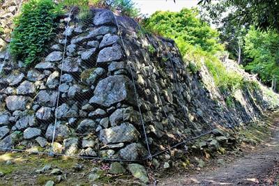 第三曲輪石垣(南西側)
