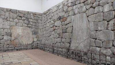 枡形内の石垣