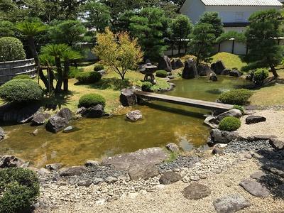 御殿の庭園