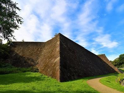 本丸北壁石垣