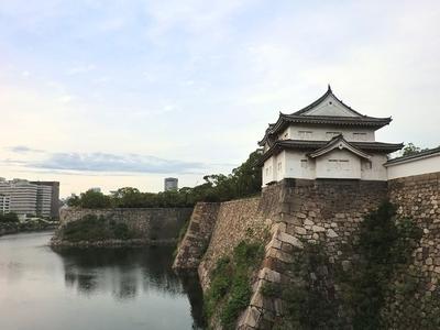 大手門前から見た千貫櫓