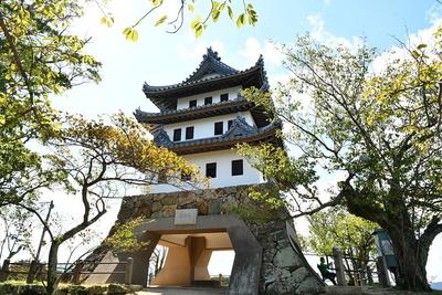 日本最古の模擬天守