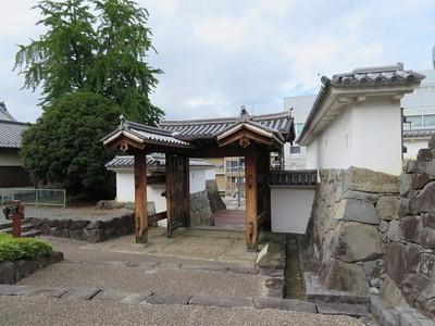 内松陰門(城内側)