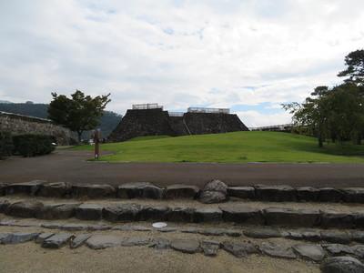本丸跡(銅門から)