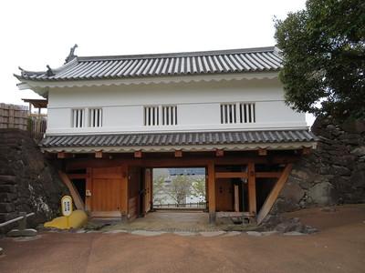 鉄門(本丸内側)