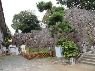 二の丸石垣(南側)