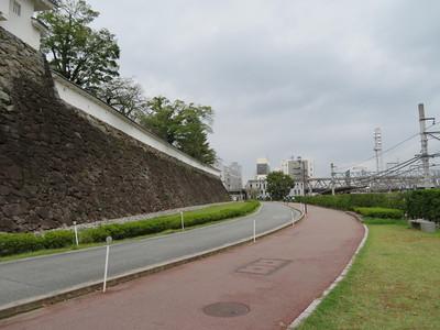 堀跡(北側