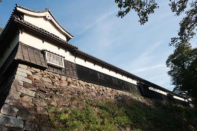 多聞櫓と石垣