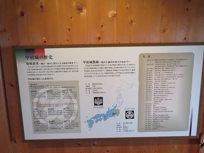 甲府城の歴史