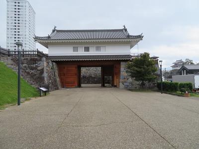 山手渡櫓門(清水曲輪側)