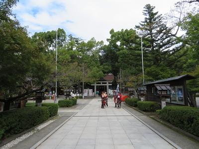 中曲輪跡(武田神社)