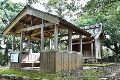 本丸にある愛宕神社