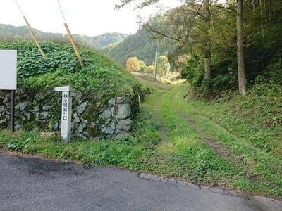 林小城の登城口