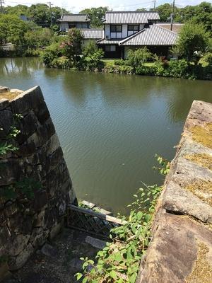 水門跡と内堀