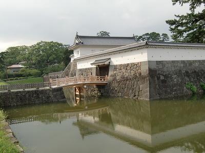 住吉橋と銅門