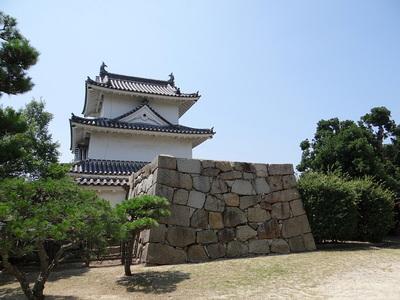 番ノ門跡と巽櫓