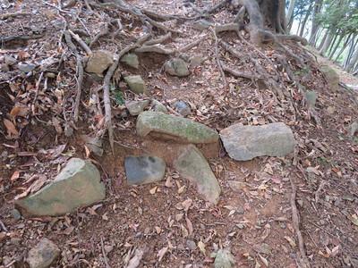 石段の石が転用石