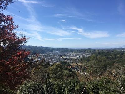 本丸から西側の眺望