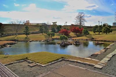 本丸大池泉(北東側)
