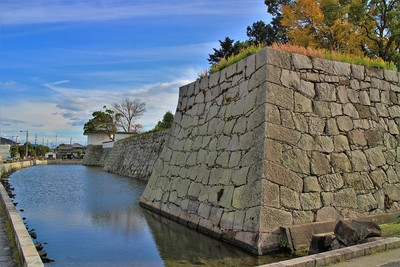 三之丸北横矢櫓台(西側)