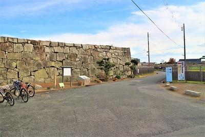 塩屋門跡(西側)