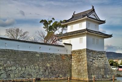 大手隅櫓(南側)