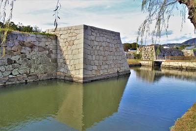 二之丸東北隅櫓台・清水門付近(南西側)