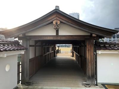 御廊下橋(山里口御門側から)