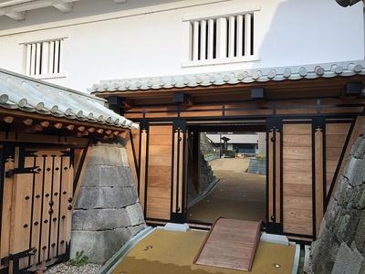 山里口御門(御廊下橋側から)