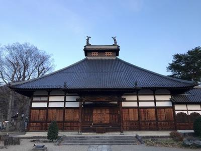 長國寺 本堂