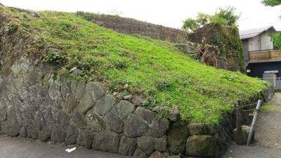 甲賀口門跡の裏側