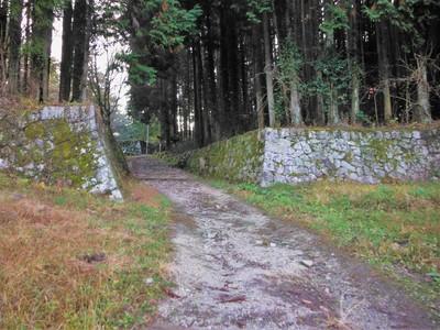 二の丸・八幡曲輪石垣
