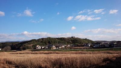 戸崎城 遠景