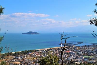 瀬戸内海・燧灘を望む