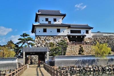 山里櫓・櫓門・高麗門(西側)