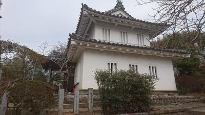 移築されている八幡台櫓