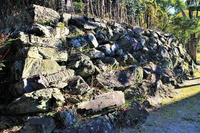 西の丸石垣(北西側)