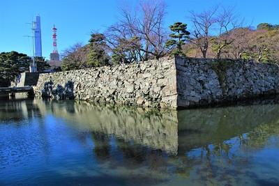 月見櫓跡(南東側)