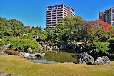 旧徳島城表御殿庭園(西側)
