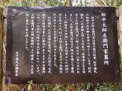 松平太郎左衛門家墓所