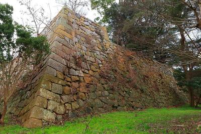 二の丸北西部石垣