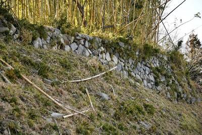 上屋敷の石垣